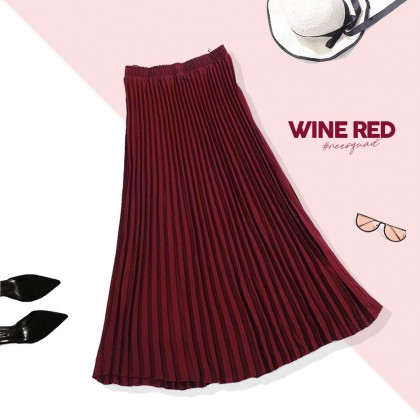 CATHY Pleated Skirt